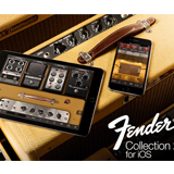 IK Multimedia、Fender®と共同開発した「Fender Collection 2 for iOS」を発売!