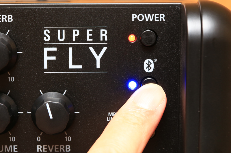 SUPER FLY Bluetooth接続1