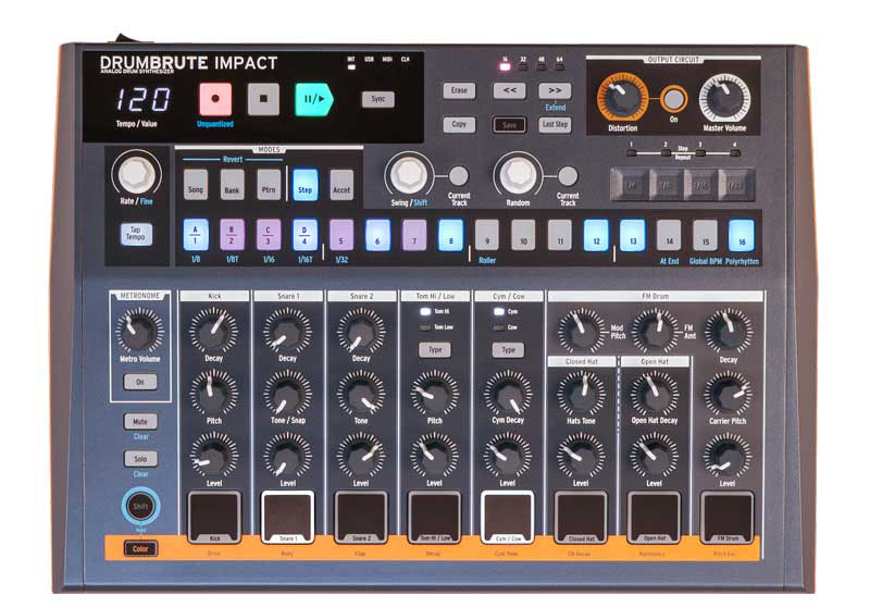 DrumBrute Impact フロント