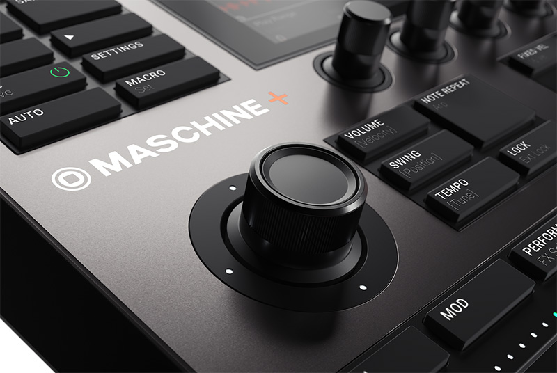 Native Instruments「MASCHINE+」イメージ1