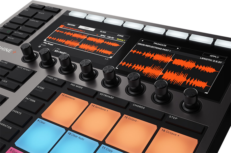 Native Instruments「MASCHINE+」イメージ2