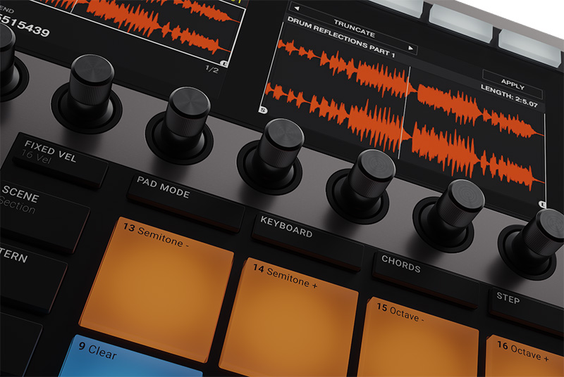 Native Instruments「MASCHINE+」イメージ5
