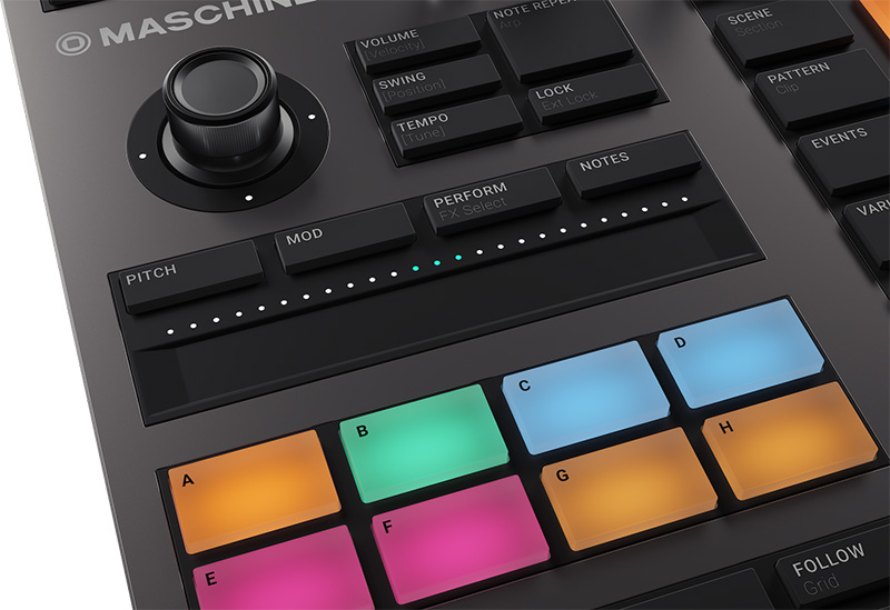 Native Instruments「MASCHINE+」イメージ7