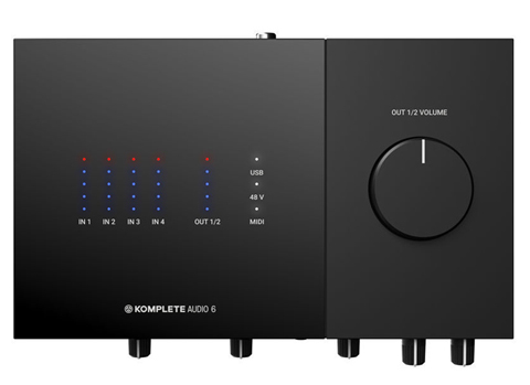 KOMPLETE AUDIO 6 MK2 top