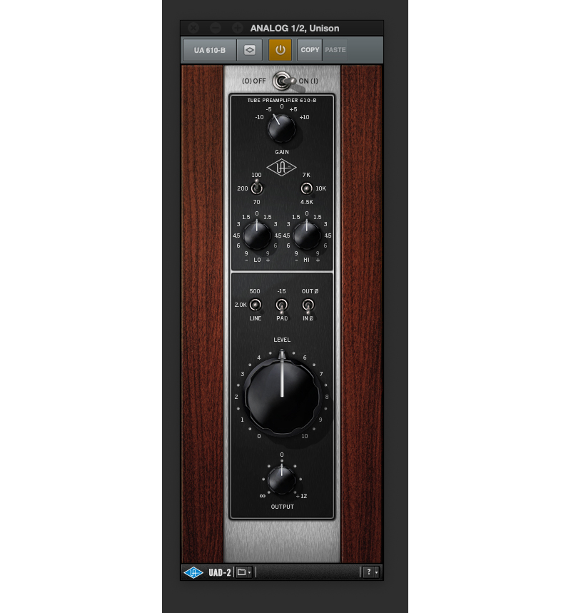 「UA 610-B Tube Preamp and EQ」