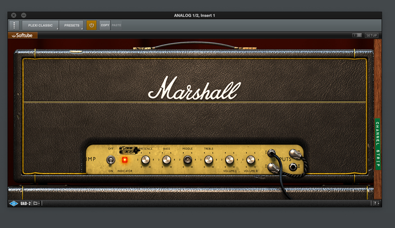 「Marshall Plexi Classic Amplifier」