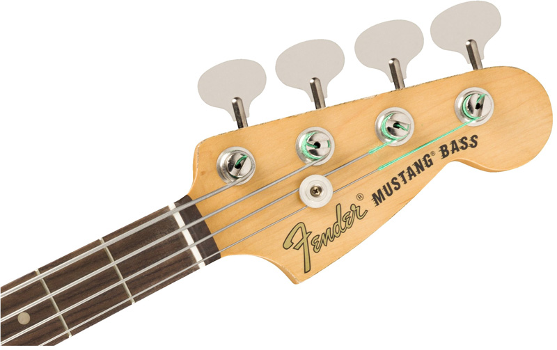 JUSTIN MELDAL-JOHNSEN ROAD WORN MUSTANG BASSのブラックカラーモデル