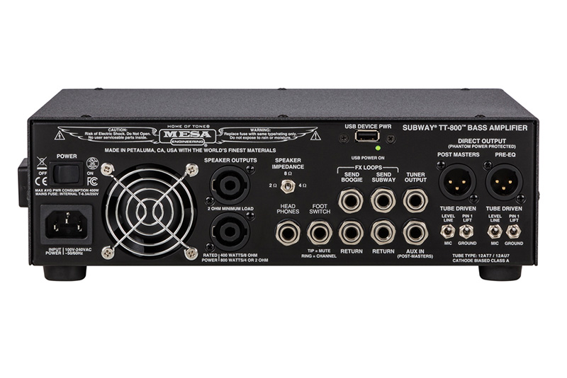 Subway TT-800 Bass Head