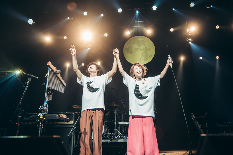 moumoon、「moumoon FULLMOON LIVE SPECIAL 2019〜中秋の名月〜」を開催!(10月6日 神奈川・カルッツ川崎)