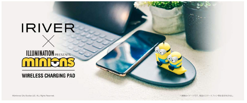 『MINIONS WIRELESS CHARGING PAD』