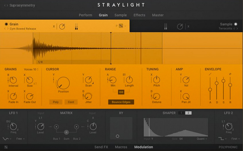 Native Instruments「STRAYLIGHT」