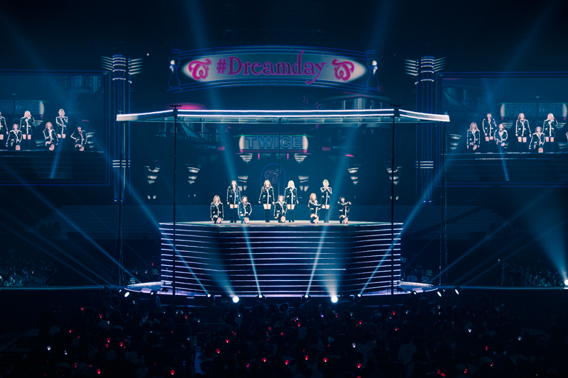 "TWICE、初のドームツアー「TWICE DOME TOUR 2019 ""#Dreamday""」初日がついに開幕!圧巻のパフォーマンスを披露!"