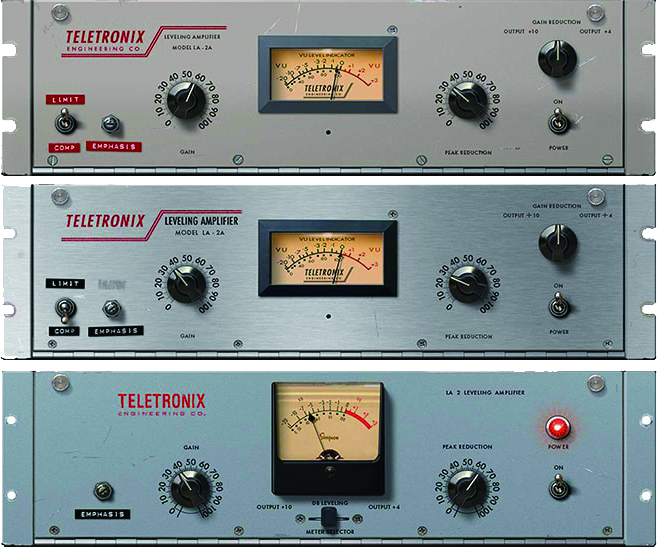 Teletronix LA-2A Classic Leveler Collection